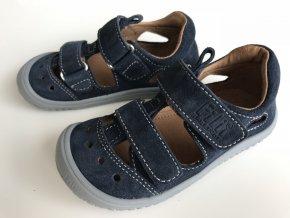 Kožené sandálky ocean/velour W