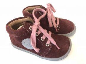 18911 18 laces velours berry M
