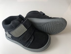 Kožené topánky Graphit/Fleece/Velour M