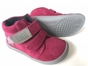 Kožené topánky Pink/Fleece/Velour M