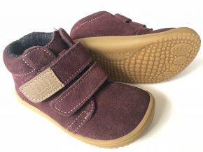 Kožené topánky Berry/Fleece/Velour W