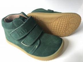 Kožené topánky Forest/velour W
