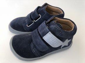 Kožené topánky ocean/velour M
