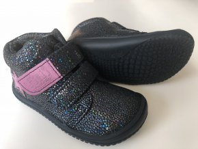 Kožené topánky Ocean Glitter/Fleece/Velour M