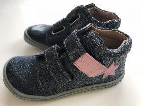 Kožené topánky ocean/glitter star/M