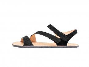 w sandale black left out