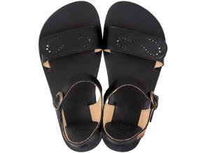 vibe barefoot women s sandals infinity black in stock 5534 4