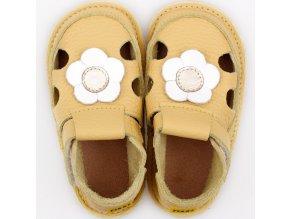 barefoot kids sandals sunflower 9544 4