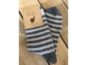 Detské ponožky Alpaka Natur D, 3 páry