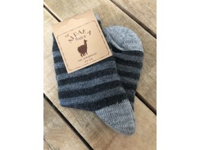 Detské ponožky Alpaka Natur CH, 3 páry