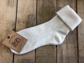 Dámske ponožky ANGORA nature