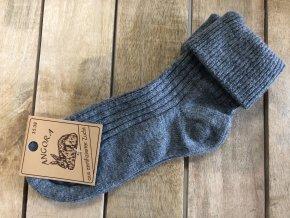 Dámske ponožky ANGORA antracit