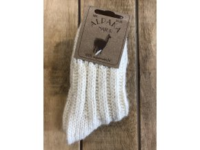 Detské hrubé ponožky Alpaka Natur - nature