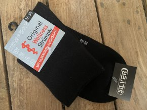 Antimikrobiálne ponožky Black/3 páry