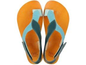 funky soul barefoot women s sandals waves 15944 4