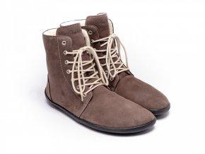 barefoot be lenka winter chocolate 3474 size large v 1