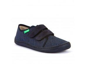 Froddo Barefoot sneakers Dark Blue + text.