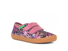 Froddo Barefoot sneakers Flowers text.