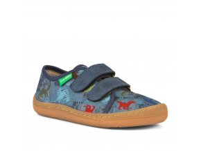 Froddo Barefoot sneakers Denim text.
