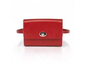 shapen kabelka beltbag red front 01
