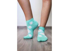 barefoot ponozky kratke margaretky 16195 size large v 1