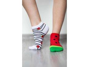 barefoot ponozky kratke melon 17563 size large v 1