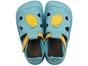 leather barefoot sandals nido lemonade 21343 4