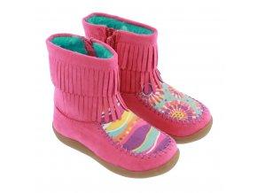 Fringe Boots in Fantasy (Veľkosť 33)