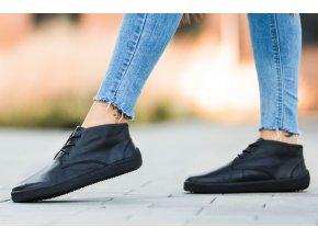 barefoot topanky be lenka glide all black 23932 size large v 1