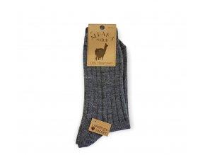 Ponožky s podielom vlny 100% / 2 páry