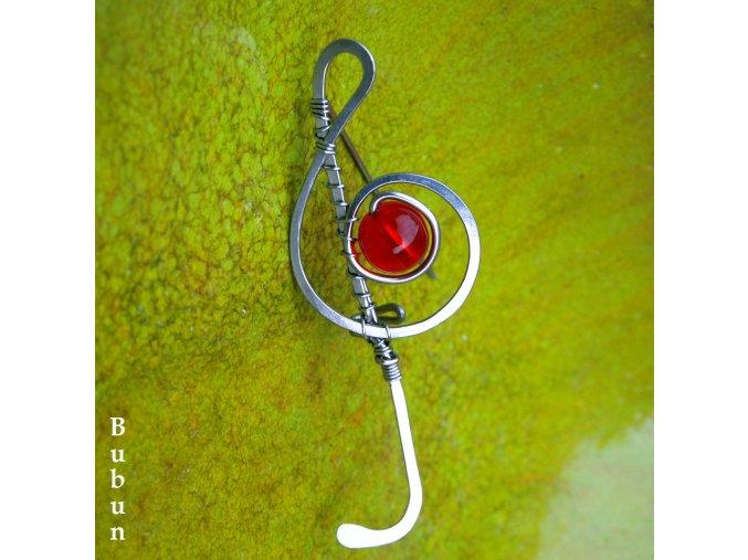 brož housk klíč 2