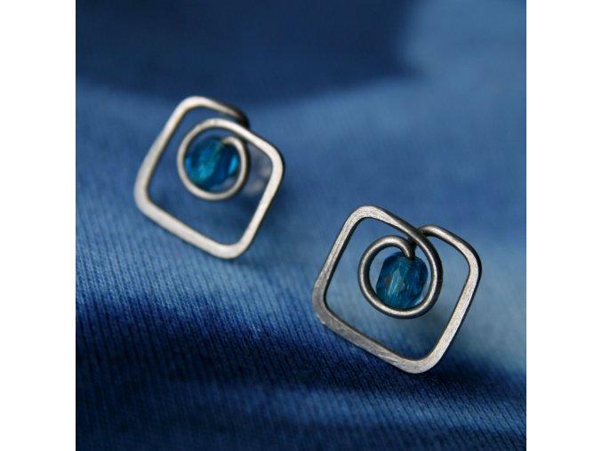 Bodovky modré čtverečky