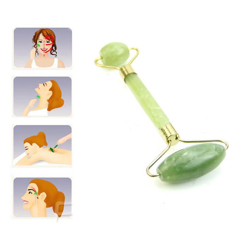 Masážní váleček z jadeitu