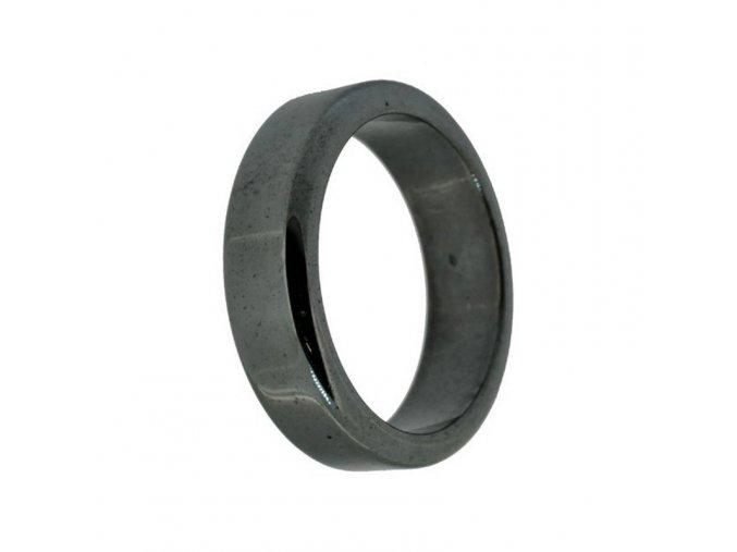 Hematitový magnetický prsten - 17 mm