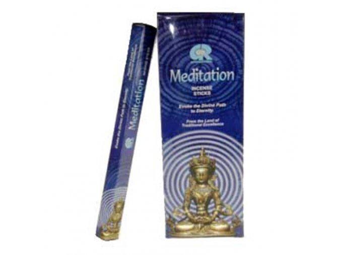 Vonné tyčinky - Meditace