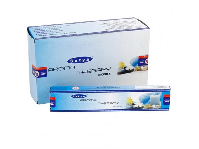 Vonné tyčinky Satya - Aromaterapie