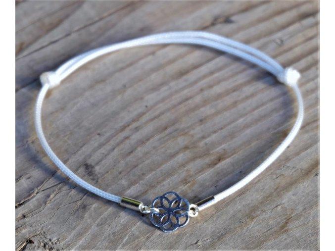 Mandala náramek - Květina