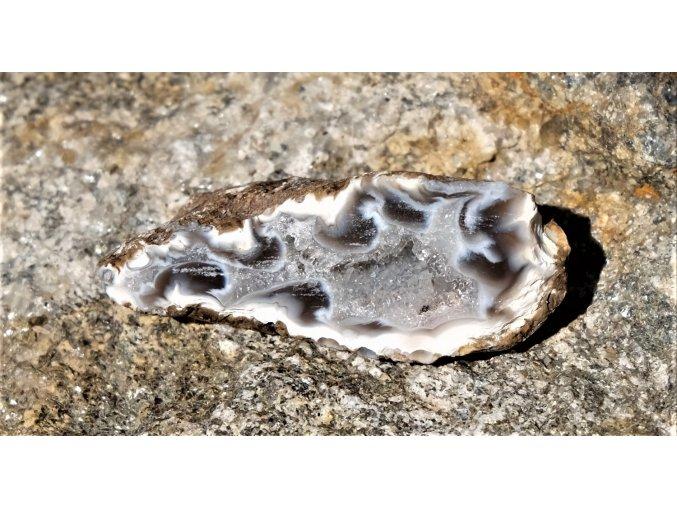 Geoda z peříčkového achátu - PA8