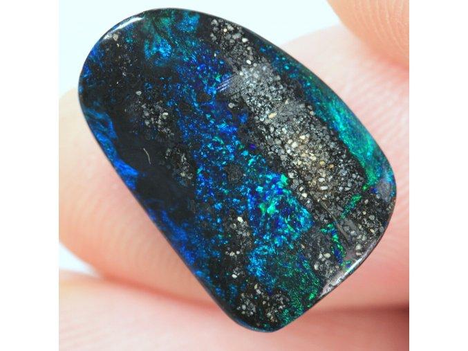 6,85 ct - Boulder opal - 16,84 x 11,2 mm