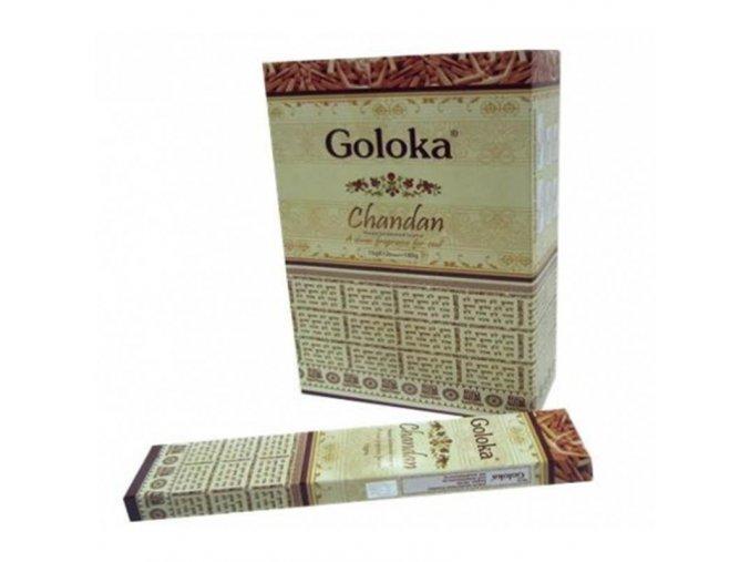 Vonné tyčinky - Goloka Chandan