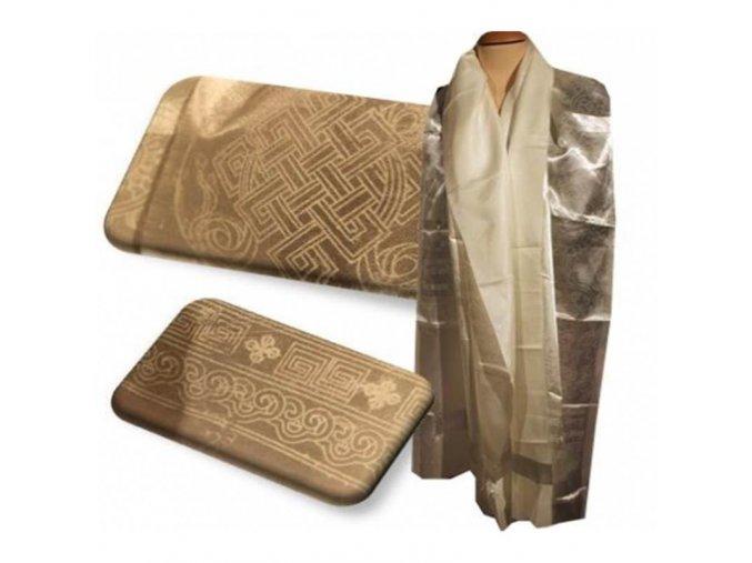 Tibetská katha - bílá