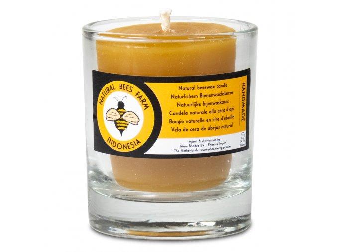 Svíčka z včelího vosku