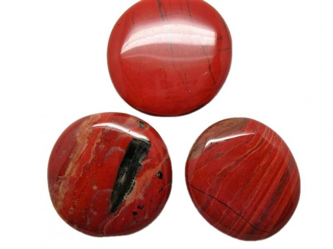 Hmatka - Jaspis červený