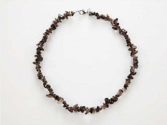 Záhněda náhrdelník sekaný