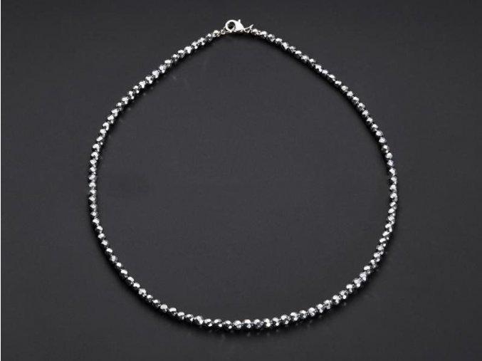 Hematit náhrdelník kulička