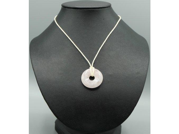 Růženín donut náhrdelník