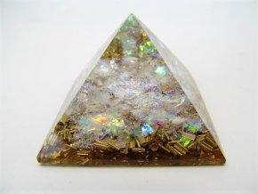 Orgonitová pyramida - duhová