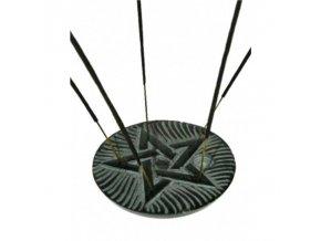 Stojánek na vonné tyčinky - Pentagram