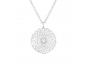 Mandala náhrdelník - Květ