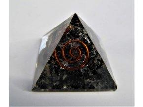 Orgonitová pyramida - Turmalín